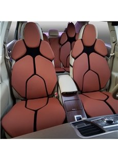 Futuristic Supercar Style Distinctive Coffee Universal Car Seat Covers