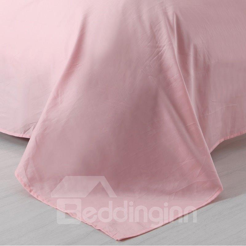 Designer 60S Brocade Shallow Window Flowers Embellished 4-Piece Cotton Bedding Sets/Duvet Cover