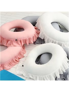 Swim Ring Shape Pink Blue Colorful High Quality Pillow
