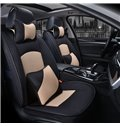 Luxurious Business Style Color Matching Soft Custom Car Seat Covers