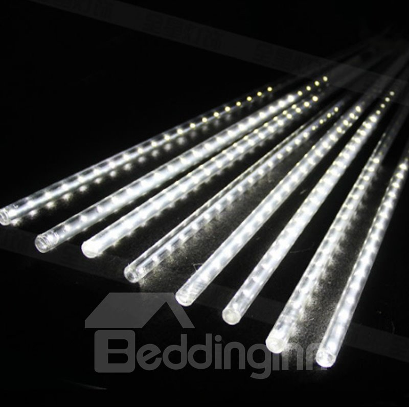 30cm 8 Tubes Meteor Shower Rain Lights Snow Falling for Christmas
