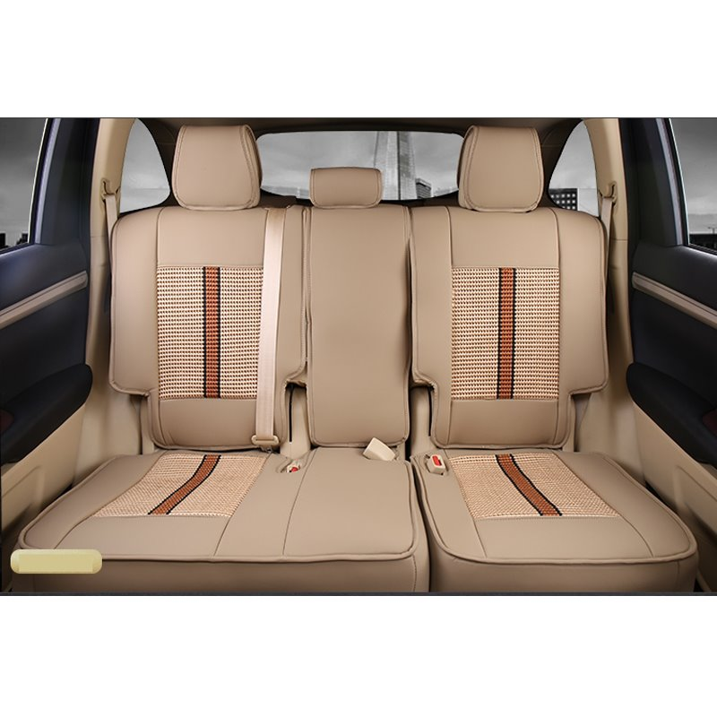2015 Toyota Highlander For Sale >> Luxurious High-grade Leather Mixed Knitting 2015-2017 ...