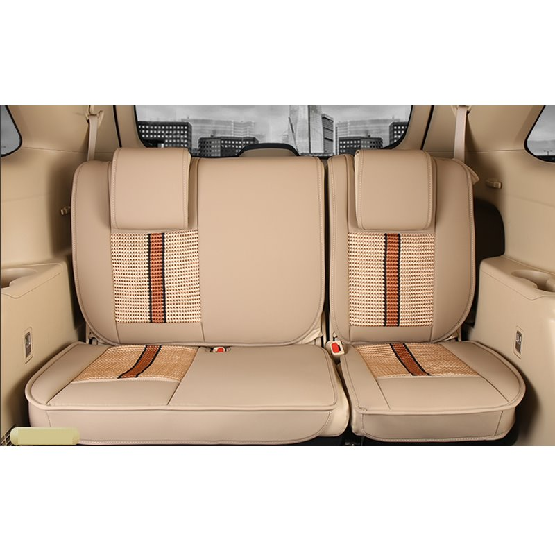 luxurious high grade leather mixed knitting 2015 2017 toyota highlander seven seats custom car. Black Bedroom Furniture Sets. Home Design Ideas