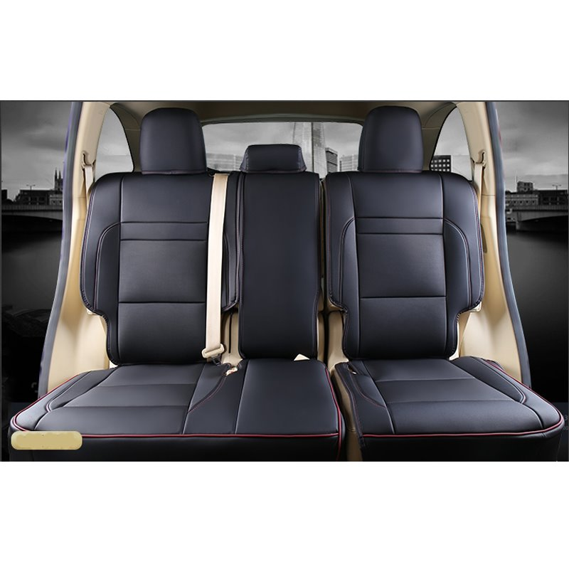 Luxurious High-grade Leather 2015-2018 Toyota Highlander Seven Seats Custom Car Seat Covers