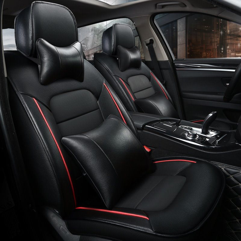 Beddinginn High Grade Leather Soft Custom Car Seat Covers Tasteful