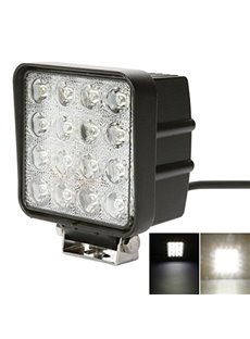 48W LED Work Light 6000k For ATV SUV Fishing Boat Tractor Truck