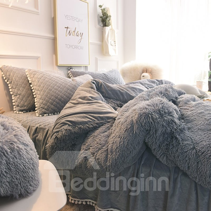 Genial Suede Bedding Sets