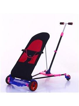 Baby Foldable Anti-shock Multi-Positon Reclining Seat Pushchair