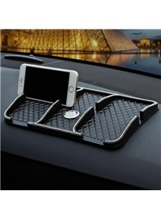 High Temperature Resistance Inlaid with Rhinestone Car Phone Holder
