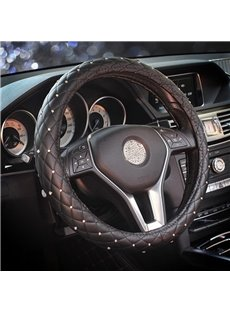 Unrivalled Sparkling With Excellent Visual Effects And Great Sense of Touch Steering Wheel Cover