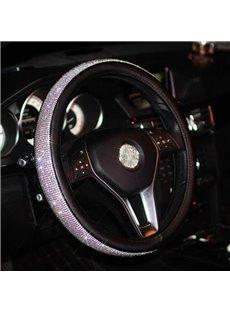 Sparkling Rhinestone Steering Wheel Cover