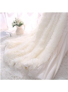 Princess_Style_Solid_White_Soft_and_Fluffy_Double_Layer_Throw_Blanket