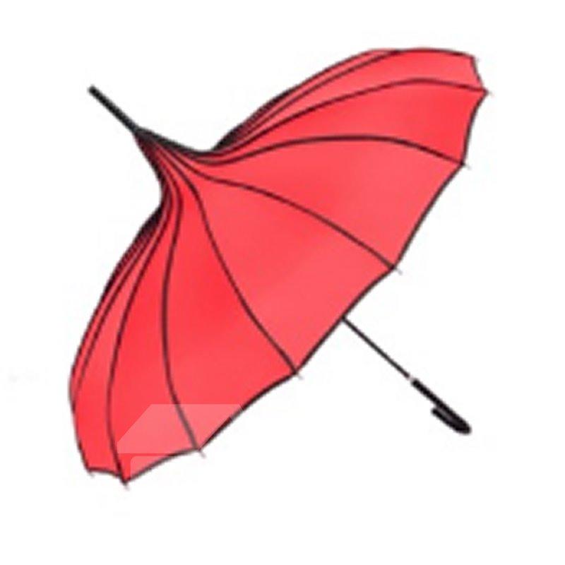Pagoda Peak Old-fashionable Ingenuity Umbrella Parasol