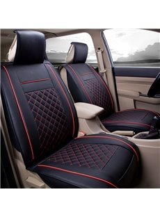 ClassicExcellent Leather Sports Style Front Single-seat Universal Car Seat Covers