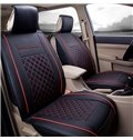 Classic Excellent Leather Sports Style Front Single-seat Universal Car Seat Cover