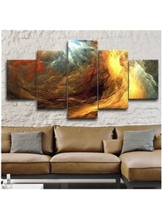Surf Hanging 5-Piece Canvas Eco-friendly and Waterproof Non-framed Prints