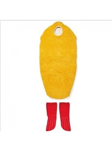 Fried Shrimp Warm Winter Cute Shape Sleeping Bag
