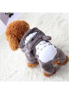 Grey Cartoon Shape XS-XXL Cute Custom Puppy Dog Cat Cloth