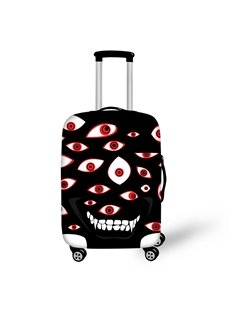 Halloween Big Eyes Evil Waterproof Suitcase Protector for 19 20 21