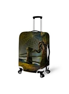 Halloween Bridge Snake Waterproof Suitcase Protector for 19 20 21