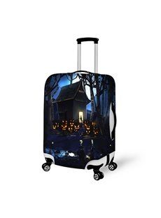 Mysterious House Halloween Night Waterproof Suitcase Protector for 19 20 21