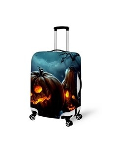 Halloween Pumpkin Light Waterproof Suitcase Protector for 19 20 21