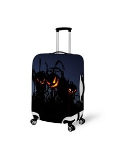Halloween Light Pumpkin Waterproof Suitcase Protector for 19 20 21