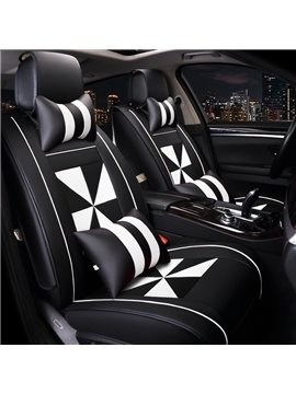 Luxurious Super Comfortable Windmill Style Custom Fit Car Seat Covers