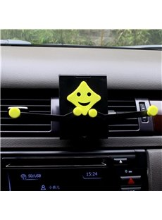 Bright Ever-changing Creative Delightful Car Phone Holder