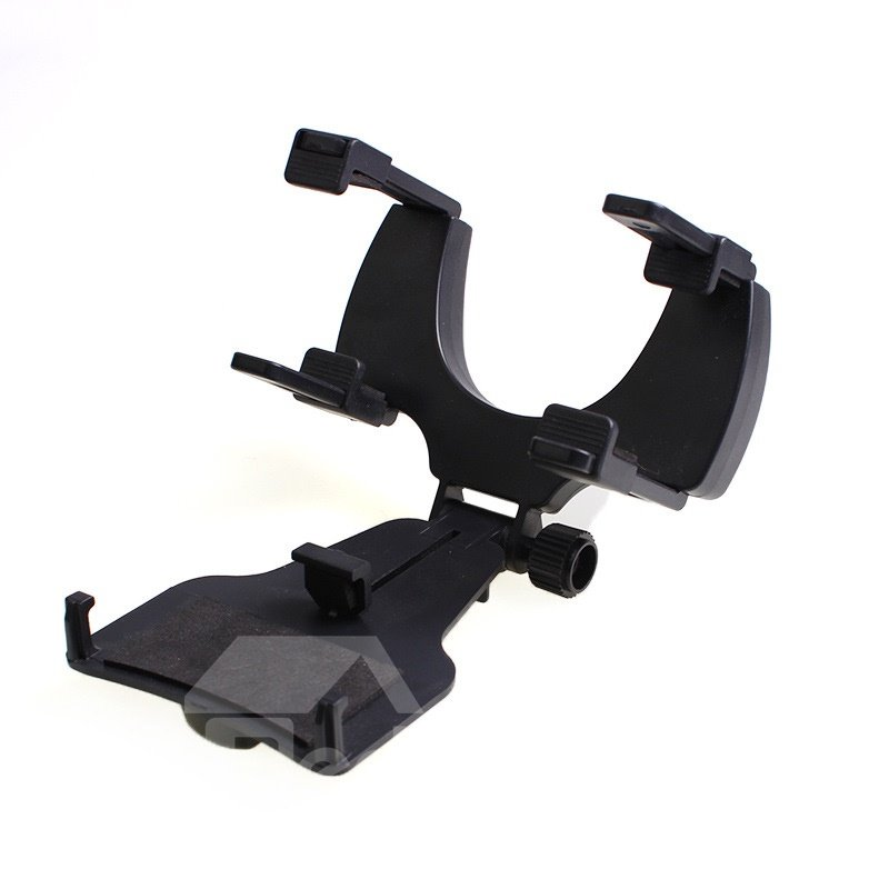 Practical Firm Rearview Mirror Retractable Car Phone Mount