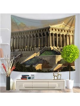 World Wonders The Temple of Artemis Decorative Hanging Wall Tapestry