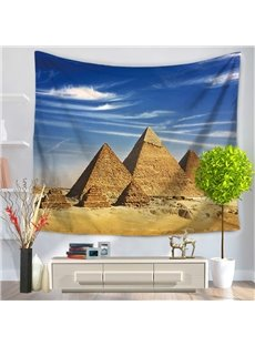 World Wonders The Pyramids of Egypt Decorative Hanging Wall Tapestry