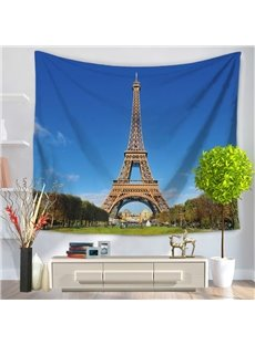 Paris Eiffel Tower Famous Tourist Attractions Decorative Hanging Wall Tapestry