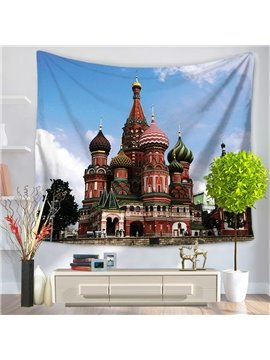 Place of Interest Moscow Saint Basil's Cathedral Hanging Wall Tapestry