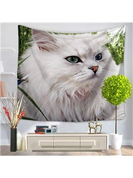 Super Noble and Serious Persian Cat Pattern Decorative Hanging Wall Tapestry