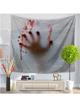 Bleeding Fingers Horrible Atmosphere Decorative Hanging Wall Tapestry