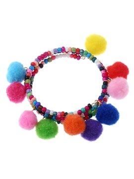 Handmade Bohemian Charm Tassel Bracelets for Women Colorful