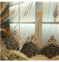 Luxury and Elegant Navy Blue Curtain Living Room and Bedroom Decorative Custom Sheer Curtain