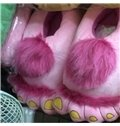 The Hobbit Feet Fashion Idea Special Shape Warm Winter Slipper