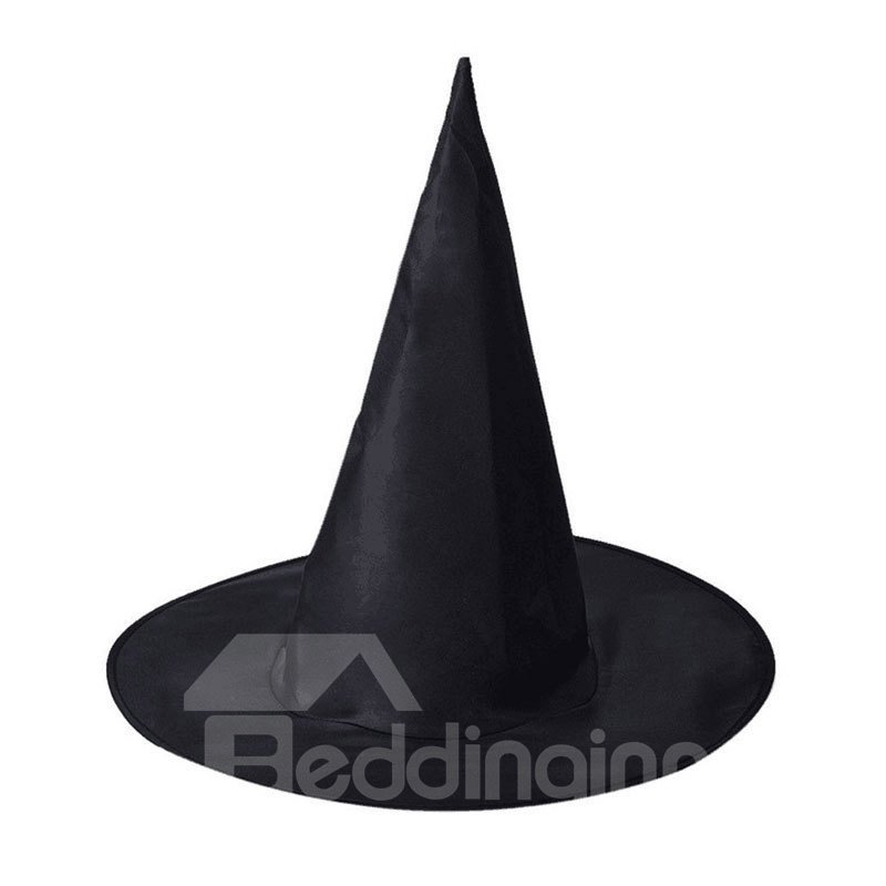 Halloween Decor Black High Witch Cosplay Dance Party Hat