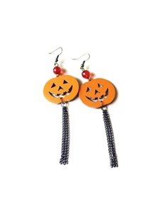 Pumpkin Halloween Fashion Sexy Retro Earring