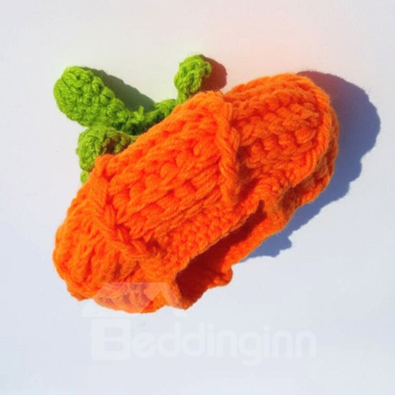 Newborn Unisex Baby Boys Girls Pumpkin Knit Crochet Hats for Halloween