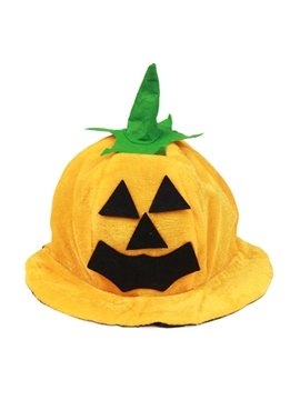 Halloween Decor Pumpkin Round Funny Hat