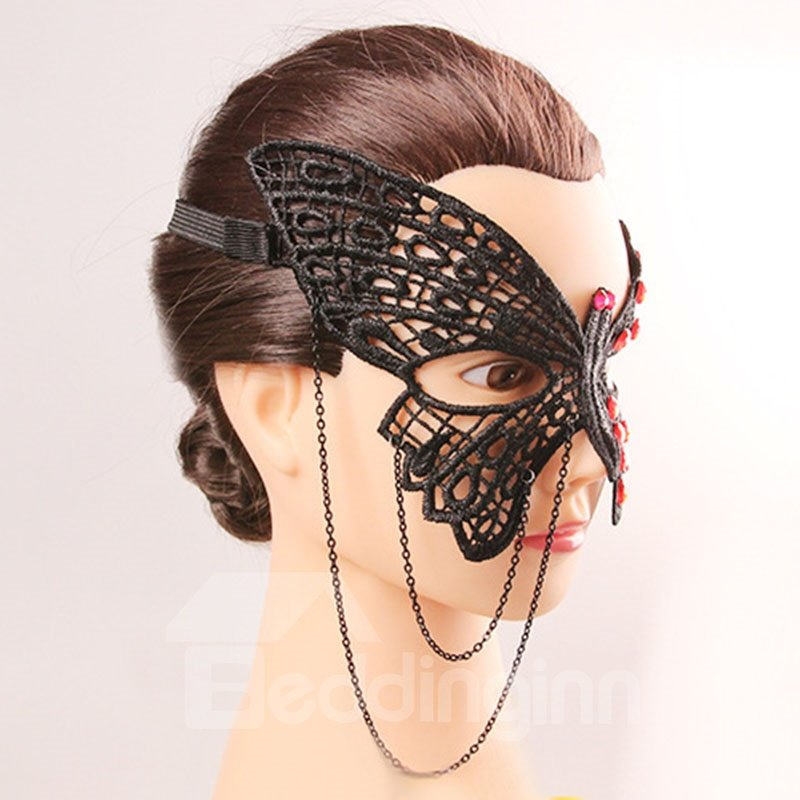 Black Butterfly Party Dance Halloween Accessories Mask