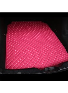 Cost-effective Classic High-quality Leather Rose Custom Car Trunk Cushion