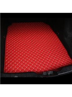 Cost-effective Classic High-quality Leather Red Custom Car Trunk Cushion