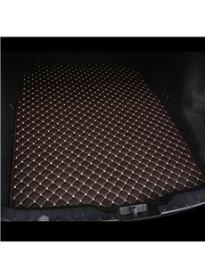 Cost-effective Classic High-quality Leather Coffee Custom Car Trunk Cushion