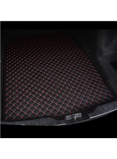 Cost-effective Classic High-quality Leather Black&Red Custom Car Trunk Cushion