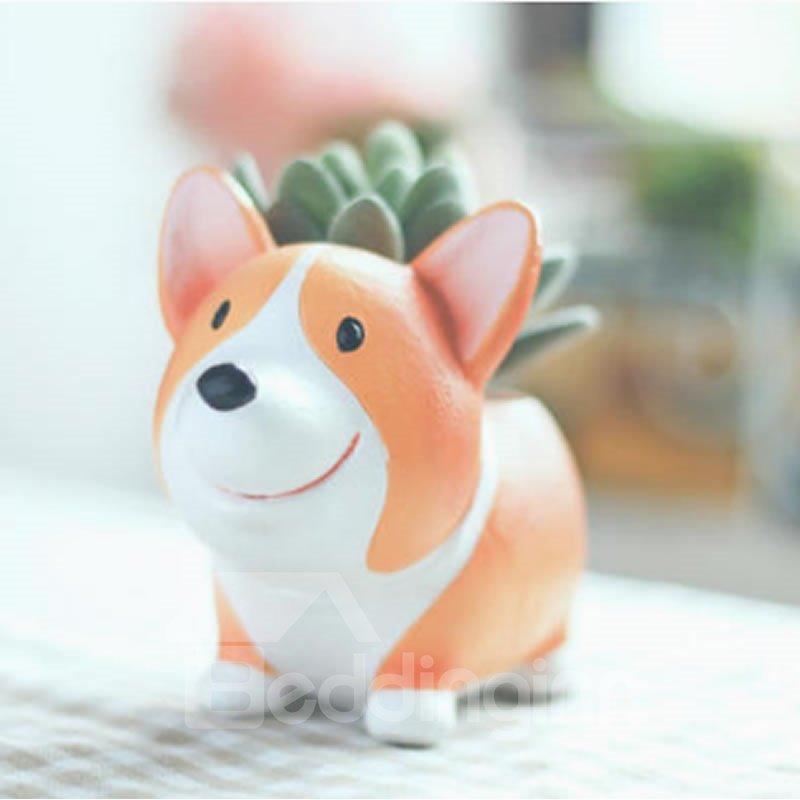 Cute Animal Shaped Cartoon Home Decoration Vase Flower Pots