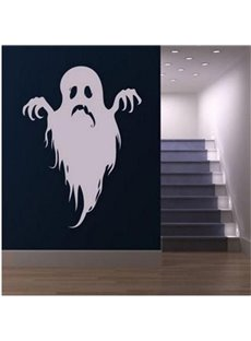 Halloween Spirit Printed PVC Water-resistant Eco-friendly Removable Self-adhesive Wall Stickers